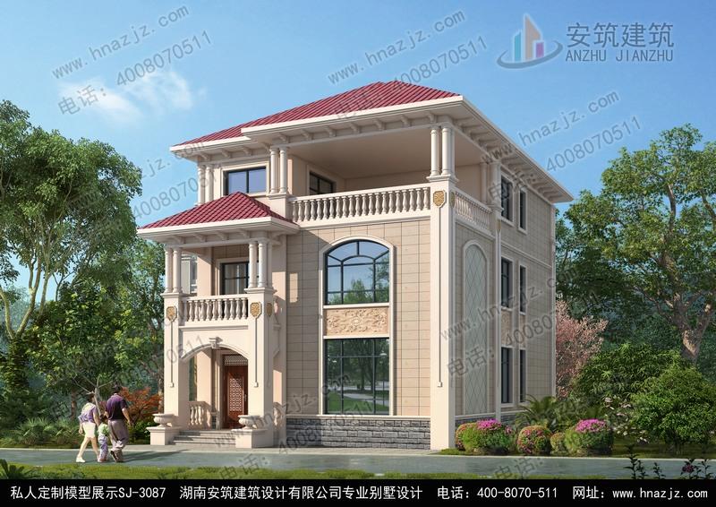 农村30万别墅款式三层,别墅图纸设计