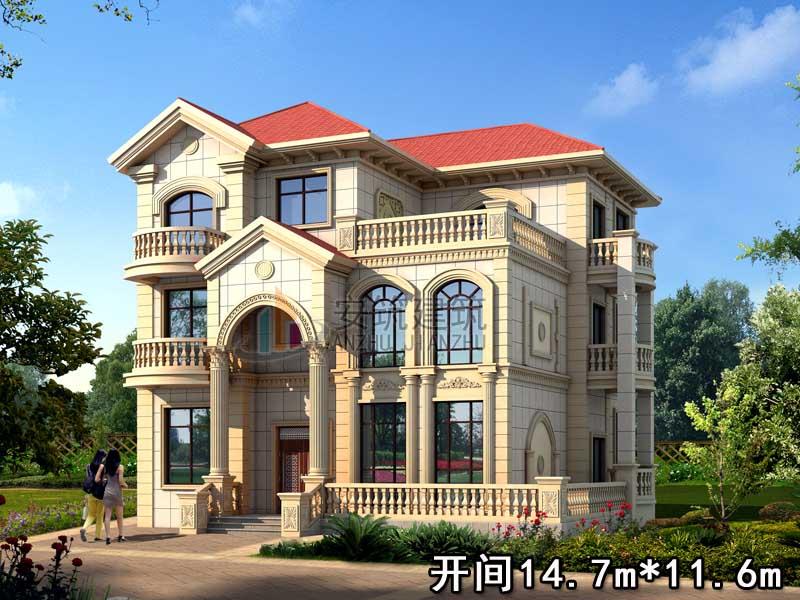 别墅设计图纸 别墅图纸超市 二层别墅设计图 新农村别墅 安筑建筑