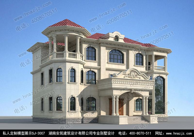 高档三层楼房设计图 别墅设计图纸 别墅图纸超市 二层别墅设计图 新农村