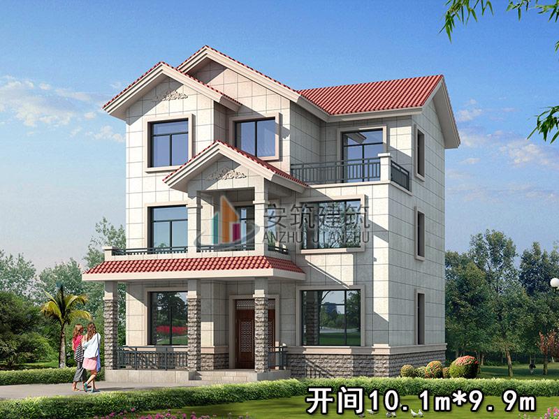 别墅设计图纸 别墅图纸超市 二层别墅设计图 新农村别墅 安筑别墅图纸