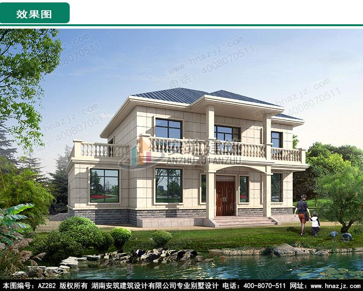 二层农村房屋设计图及效果图_别墅图纸超市,安筑建筑a
